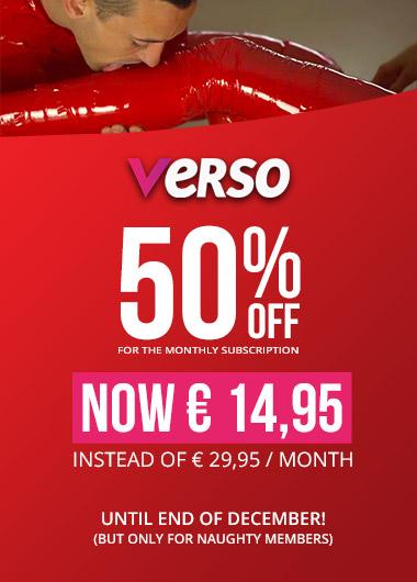 Verso 50% off