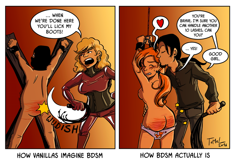 Remarkable, this bdsm comic pic casually, not